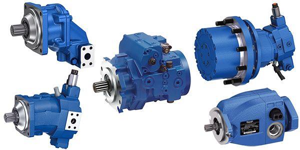 Bosch Rexroth Hydraulics Pumps and Motors