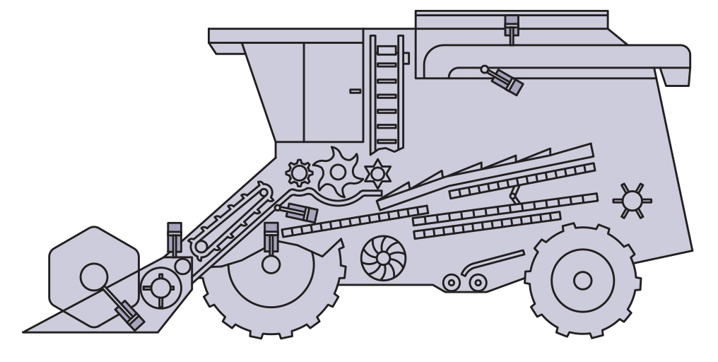 Mobile hydraulic solutions for combine harvester Pacific